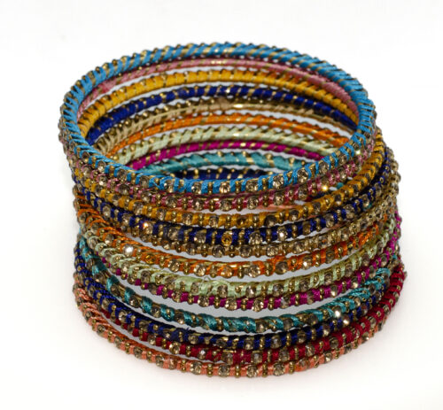 Colorful Bangles –  set of 12