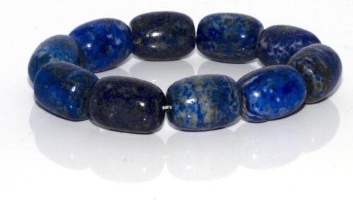NATURAL GEMSTONE BRACELET-Blue, Lapis Lazuli