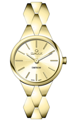 OMAX Women Wristwatch – GOLD