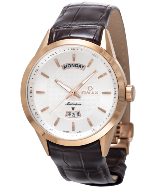 OMAX Masterpiece Wristwatch – RoseGold