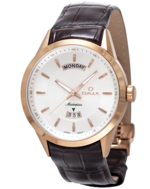 OMAX Masterpiece Wristwatch – RoseGold