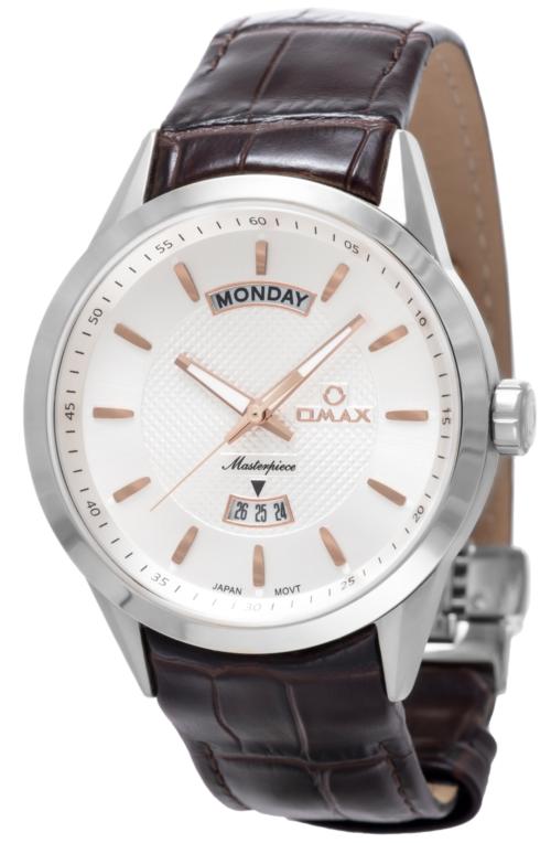 OMAX Masterpiece Wristwatch – Silver