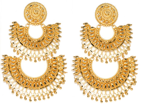 2 layer ChandBali Earring