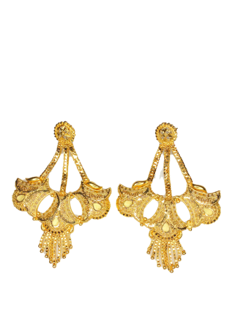 Chandelier Earring Gold plated