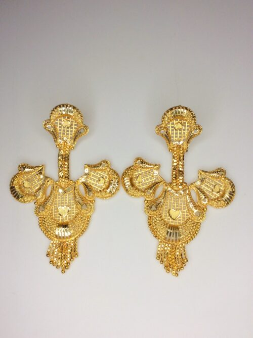 Chandelier Earring Gold plated Type2
