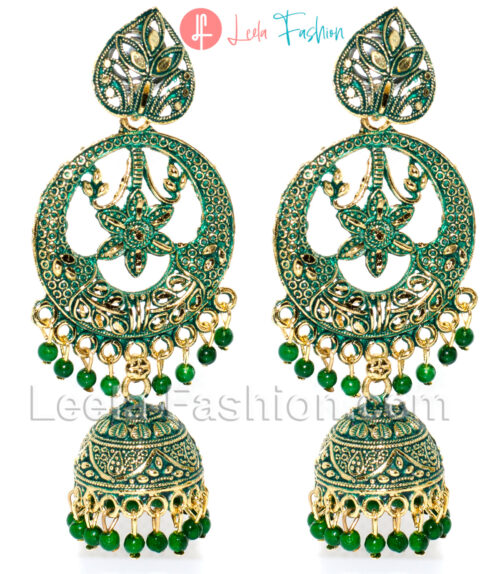 Jhumka Earring Heart and Star – Multi Colors